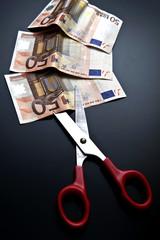 TAGLI: forbice taglia banconote da 50 euro