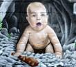 Fototapete Ausdruck - Baby - Graffiti