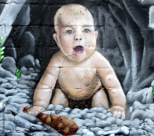 Fototapete Abstrakt - Ausdruck - Graffiti