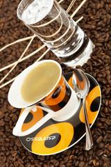 Espresso cupspoonteaspoon