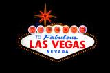 Las Vegas Sign at night