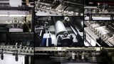 industry, printing machinery poster