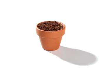 Ein Blumentopf