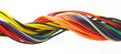 Multicolored cable