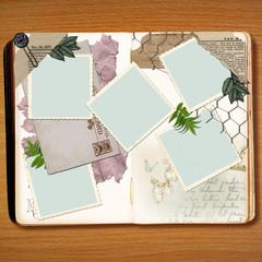 Scrapbook Book Design