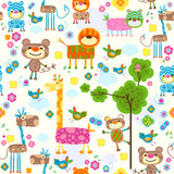 Fototapety animals background