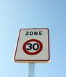 zone limitée à 30