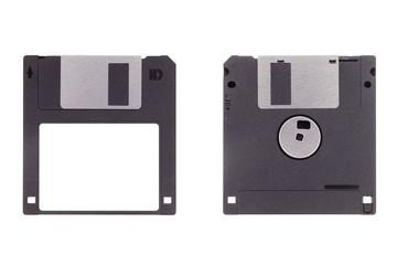 """3.5"""" Diskette isoliert auf weißem Hintergrund"""
