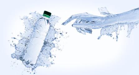 Water hand bottle