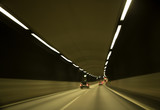 Traffic in tunnel