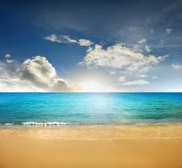 beach , tropical sea