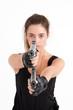 Mujer armada