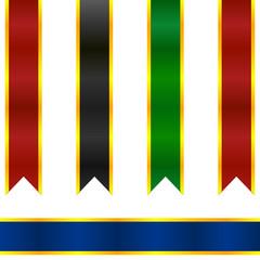 Renkli şeritler