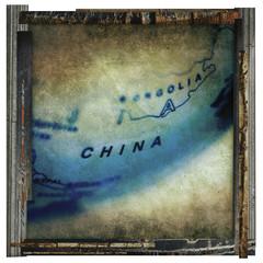 old china print