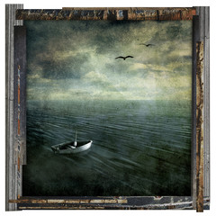 lost at sea artwork