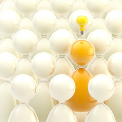 Generating ideas: one bright mind in a crowd