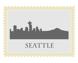 Seattle stamp