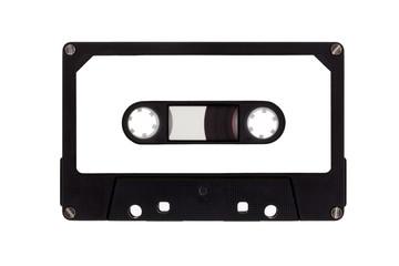 Kassette einzeln, isoliert auf weißem Hintergrund