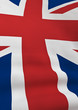 Surface detailed UK flag