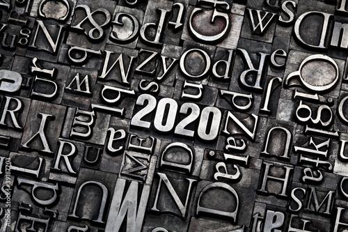 Leinwandbild Motiv 2020