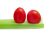 cherry tomatoes and celery