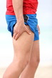 Muscle sports injury