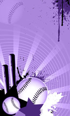 Baseball batter background. (web, magazine, flyer, poster)