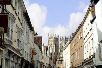 York Minster in Yorkshire England