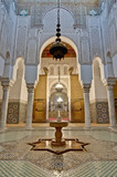 Moulay Ismail Mausoleum at Meknes, Morocco poster