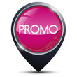 Symbole glossy vectoriel soldes / promotions