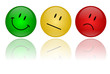 Smileys - verschiedene Farben