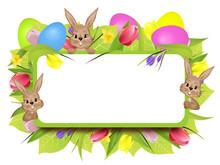 Wielkanoc ramki