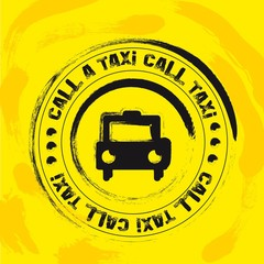 taxi stamp
