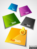 Color vector labels