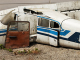 Air-frame of obsolete airplane - 39208923