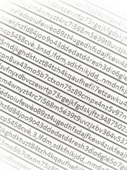Buchstabensalat - Kodierte Informationen