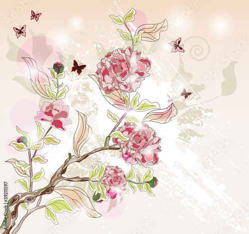 piwonia-oddzial-malowane-w-orientalnym-stylu