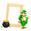 Saint Patrick's Day Photo Frame