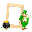 Saint Patrick's Day Photo Frame