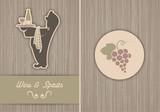 background Wine & Spirits poster