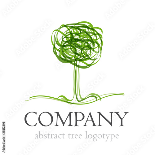 Logo abstract tree # Vector