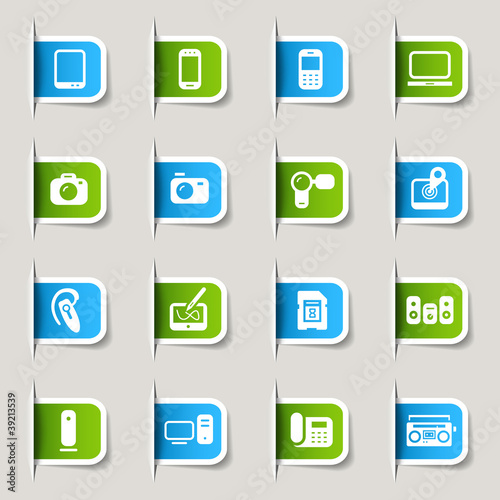 Label - Media Icons