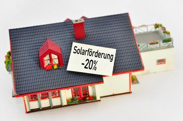 Solarförderung -20%