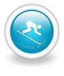 "Light Blue Icon ""Downhill Skiing"""
