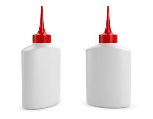 Oil or glue bottle for design presentation