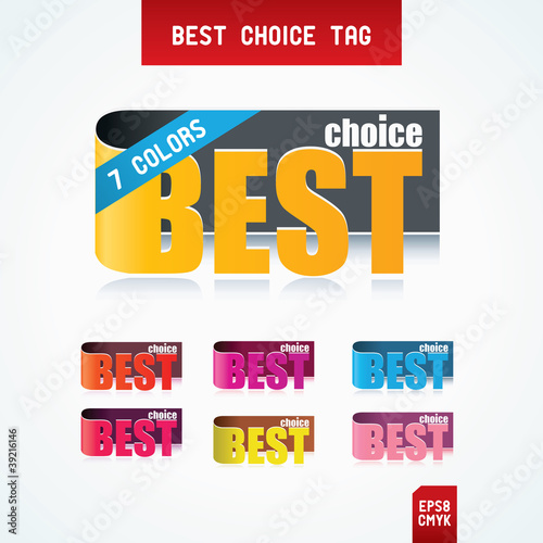 Best Choice Tags.