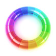 3D Colour glass wheel - Rainbow