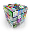 Apps Cube of Application Software Tiles