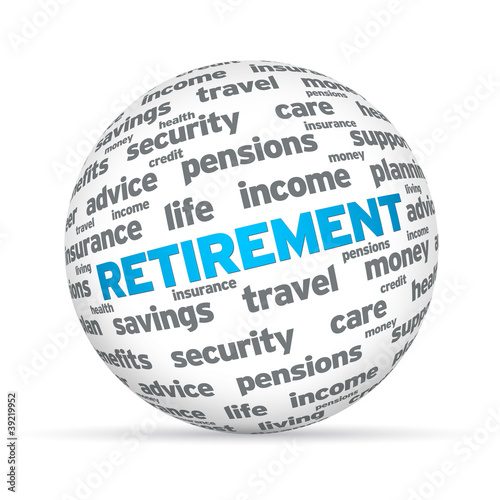 Retirement 3D Sphere