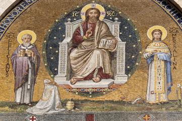Duomo of Foligno, mosaic